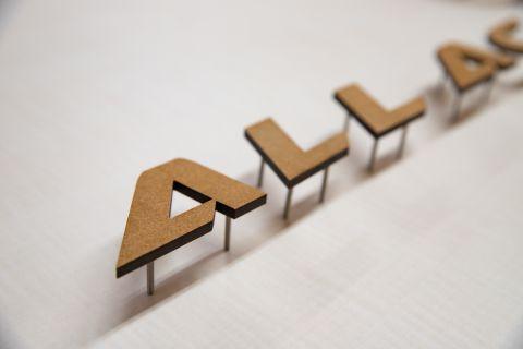 MDF切り文字の製作