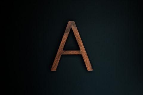 木製切り文字