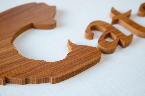 木製っぽいカルプ文字